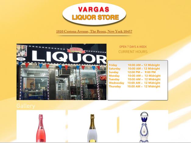 Vargas Liquor Corp LLC, Bronx NY