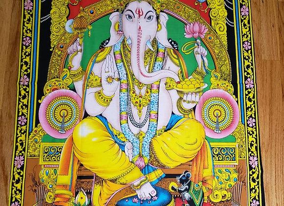 "Tapiz de Ganesha - 41""x28"" - #1701"