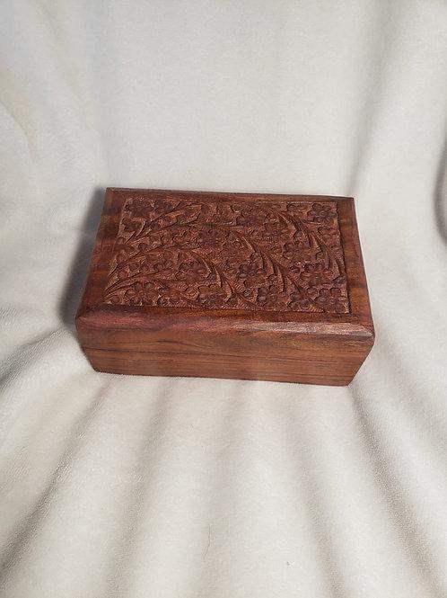 Caja de madera  para Reiki - decorativa