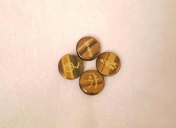 Reiki stones  Juego de 4 - #1202