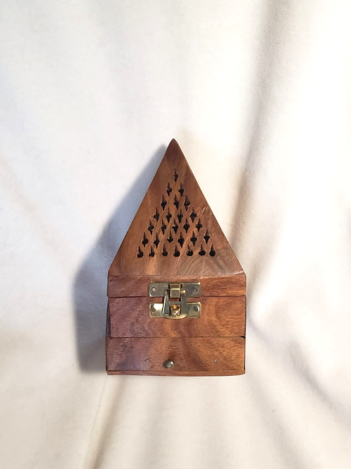 Quemador de Incienso - madera #1009