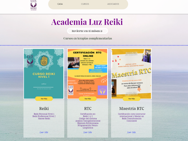 Academia Luz Reiki - Spanish