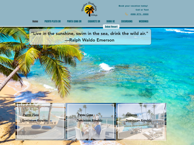 Vacation Destinations VIP Style LLC, NJ - Online Vacation Booking Site