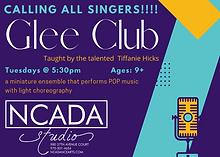 Violet Aqua Yellow Glee Club Flyer (1).png