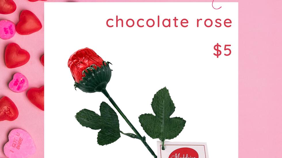Candy-Gram Chocolate Rose