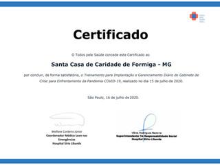 Santa Casa de Formiga agora faz parte do Projeto Todos pela Saúde