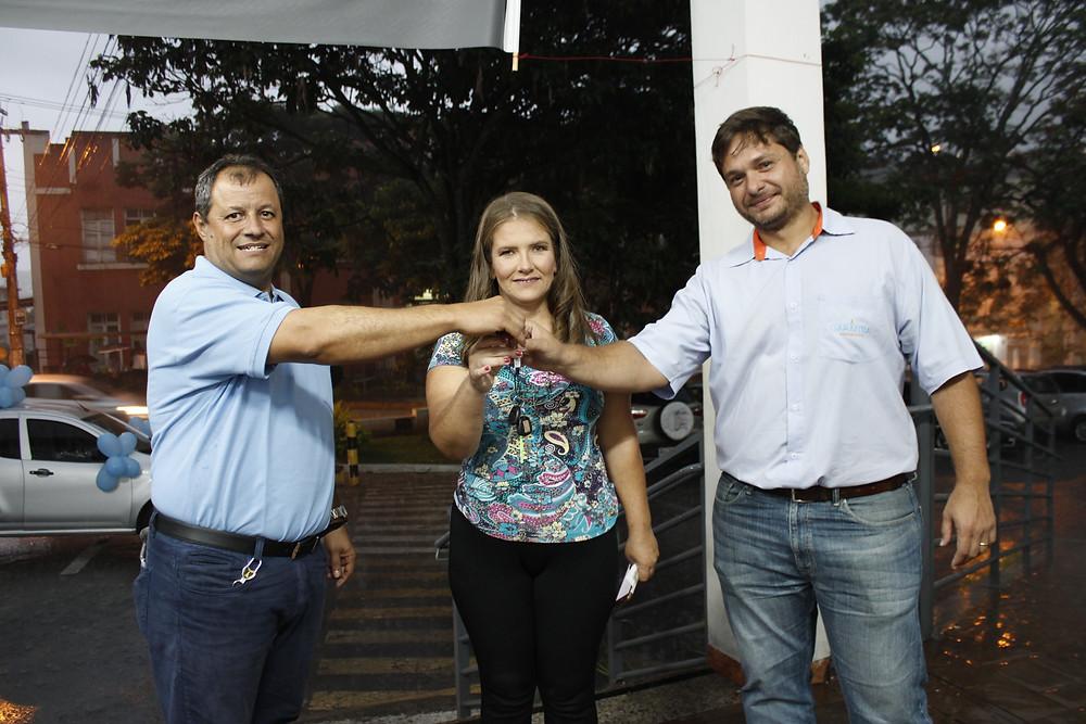 A ganhadora, Kátia Flávia Leal Silva