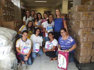 Santa Casa de Formiga recebe doação de fraldas