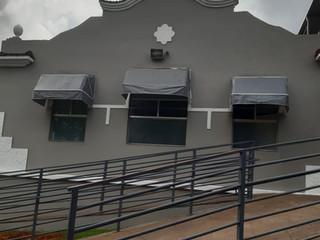 Com ajuda da população, a fachada da Santa Casa de Formiga é revitalizada