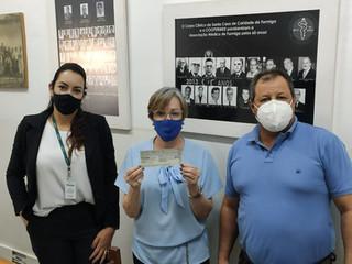Sicoob Centro Oeste realiza ação em prol da Santa Casa de Formiga