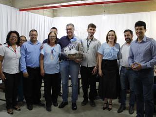 Santa Casa de Formiga recebe a visita do  Secretário Estadual de Saúde