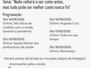 Santa Casa de Formiga realizará a 25ª SIPAT com programação online