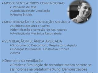 Curso de Ventilação Mecânica será realizado na Santa Casa de Formiga
