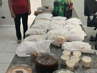Voluntariado: colaboradores da ala do Covid ganham café especial