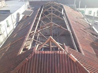 Obra do telhado da Santa Casa de Formiga está quase finalizada