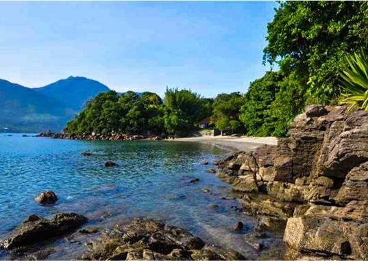 Praia do Cabelo Gordo - praia vizinha