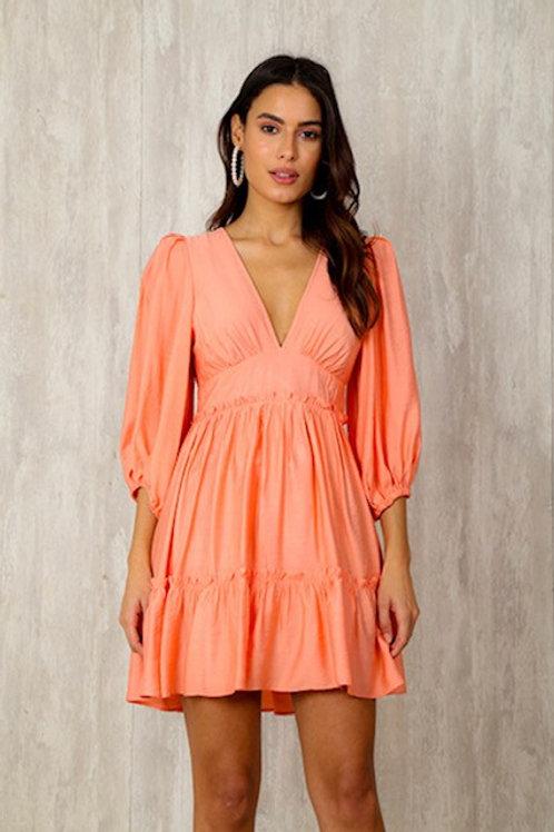 Vestido Rayon Silk