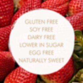 GLUTEN FREE SOY FREE DAIRY FREE LOWER IN