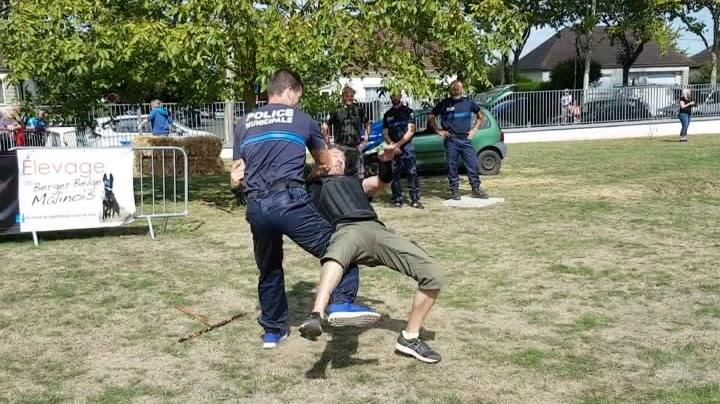 Démonstration Police