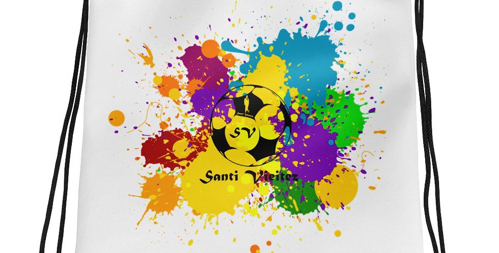 Mochila con cordones Colores Santi Vieitez