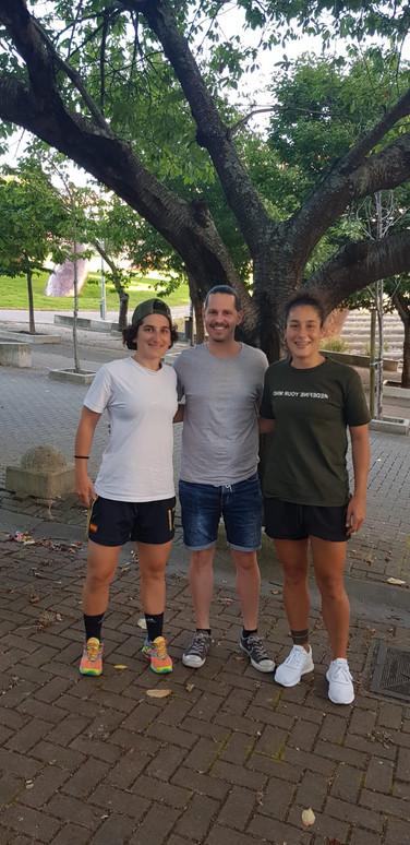 Andrea Carid, Santi Vieitez y Andrea Miron.jpg