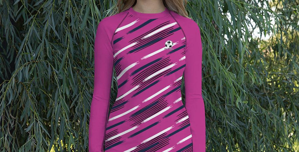Camiseta técnica para mujer Fucsia