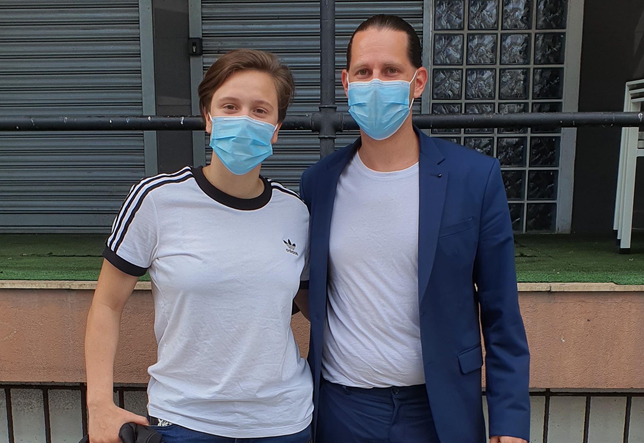 Nuria Gómez y Santi Vieitez
