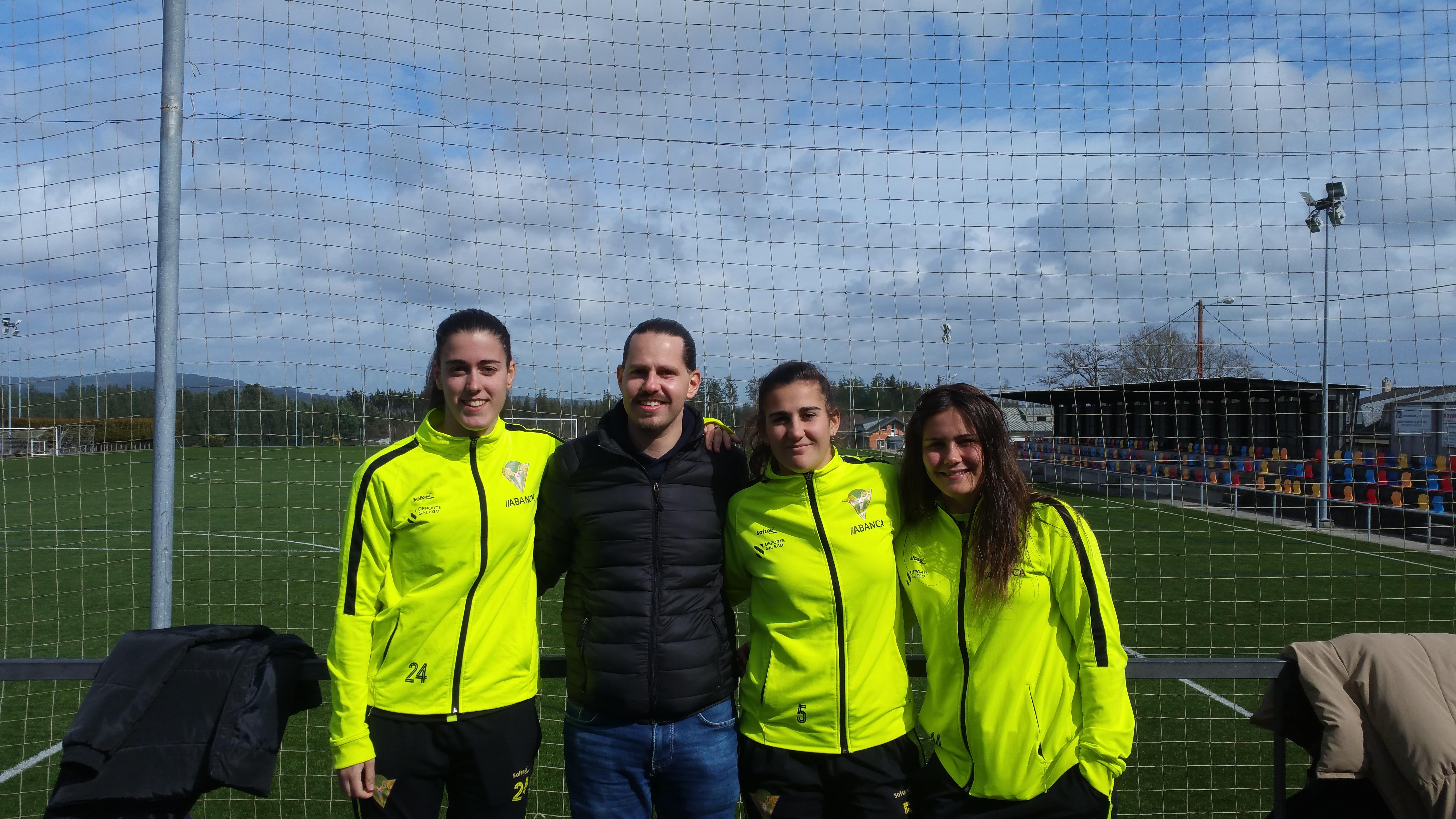 Mariajo, Natalia Loa, María Corral y Santi Vieitez
