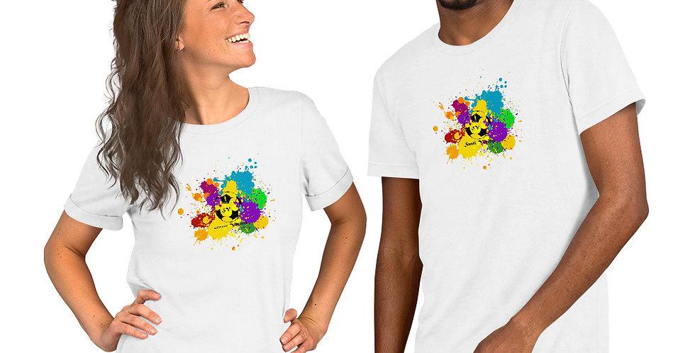 Camiseta de manga corta unisex Colores
