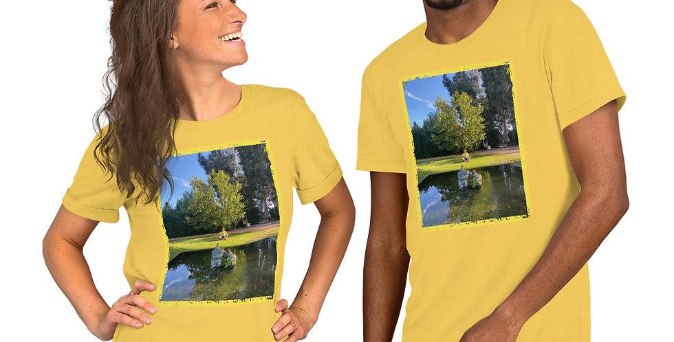 Camiseta de manga corta unisex Peace