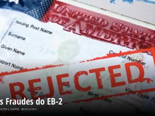 As fraudes do EB-2