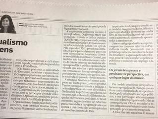 """O gradualismo e os jovens (jornal """"O Estado de São Paulo"""")"""