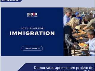 Democratas apresentam projeto de imigração proposto por Biden