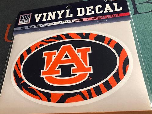 "6"" Auburn Tiger Decal"