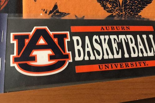 AU Basketball Decal