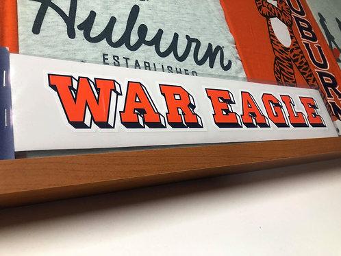War Eagle Decal