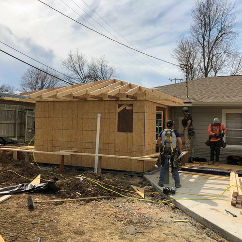 Roof construction for bathroom remodel broken arrow, ok