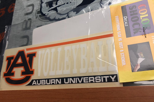 AU Volleyball Decal