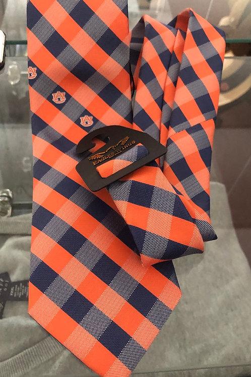AU Check Plaid Tie
