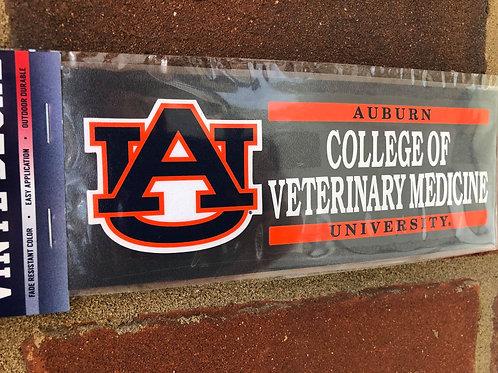 Auburn College of Veterinary Medicine Decal