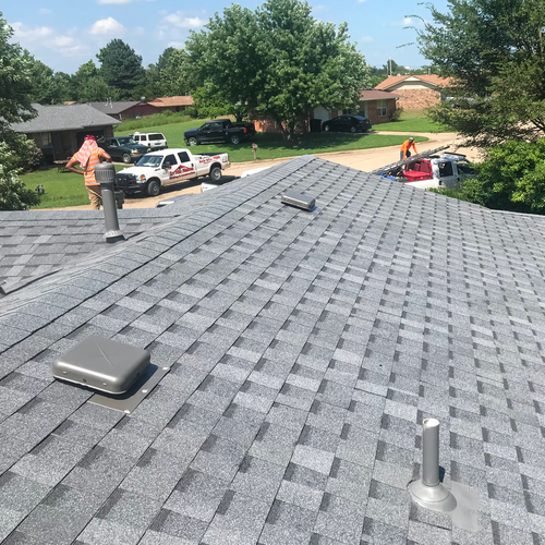 Brand new roof by In His Name roofing