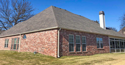 Beautiful roof on a Oklahoma house