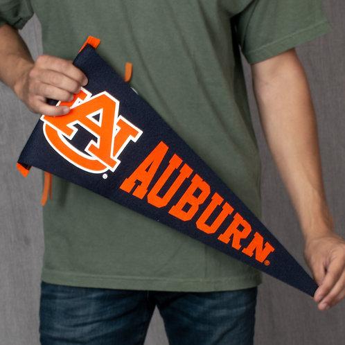 9 X 24 Auburn Wool Felt Pennants