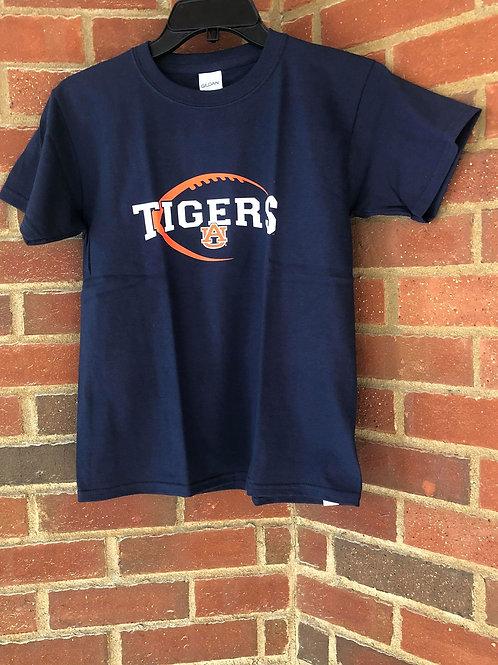 AU815YTHSS AU Tigers Children's T-Shirt