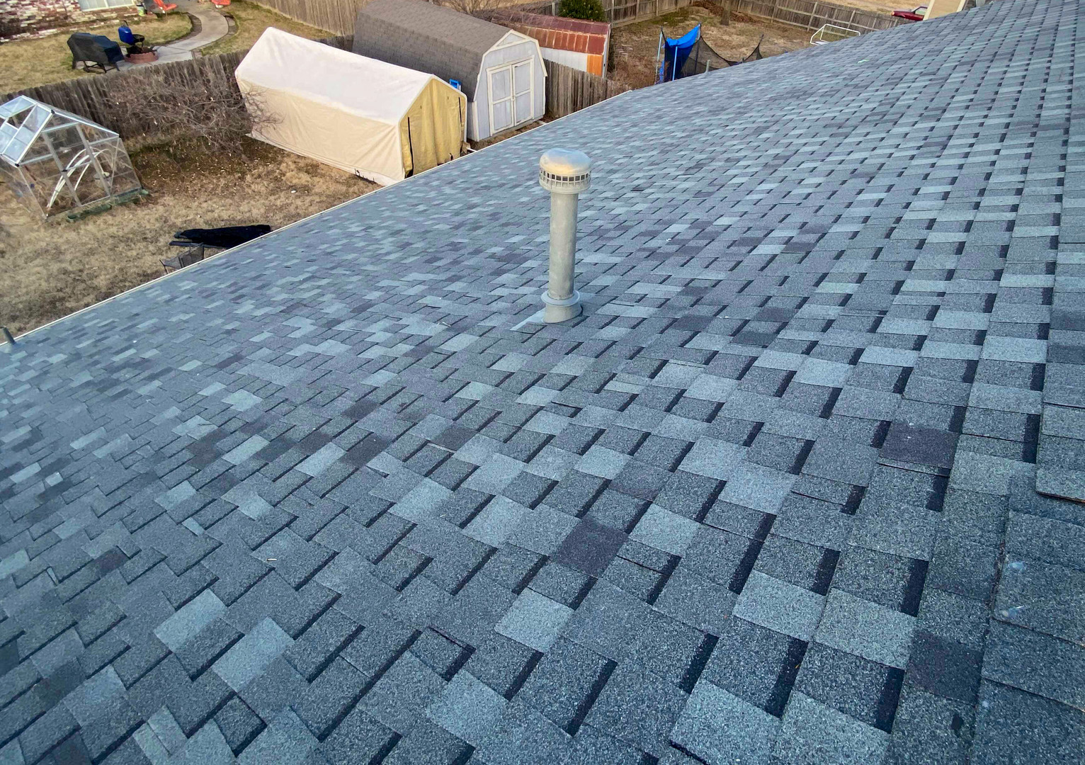 New roof construction repair in broken arrow, ok