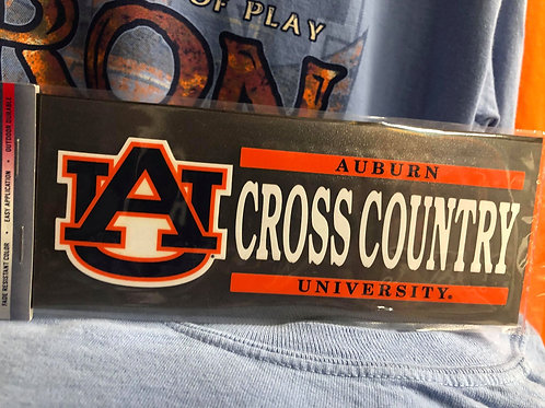 AU Cross Country Decal