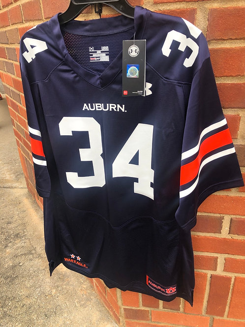 War Eagle! 34 Auburn Jersey