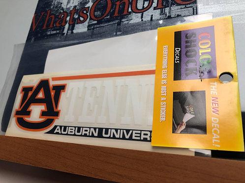 Auburn University Tennis Decal