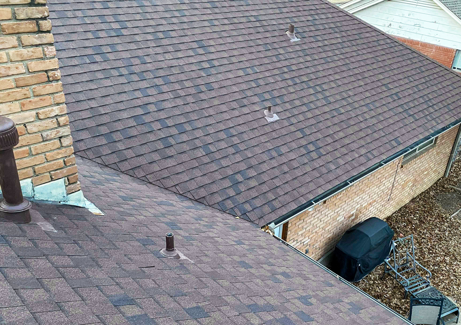 Roof corner done beautifully by In His Name