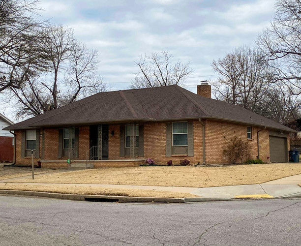 In His Name Roofing and Construction built this roof in tulsa, OK